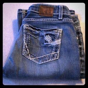 BKE Sabrina Stretch Jeans 31x31.5